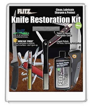 Flitz KR 41511 Knife Restoration Care Kit  #KR41511